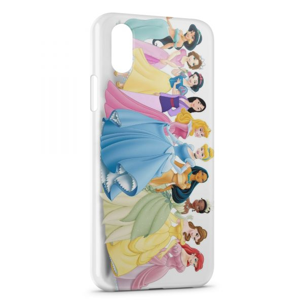 Coque iPhone X & XS Disney Princess