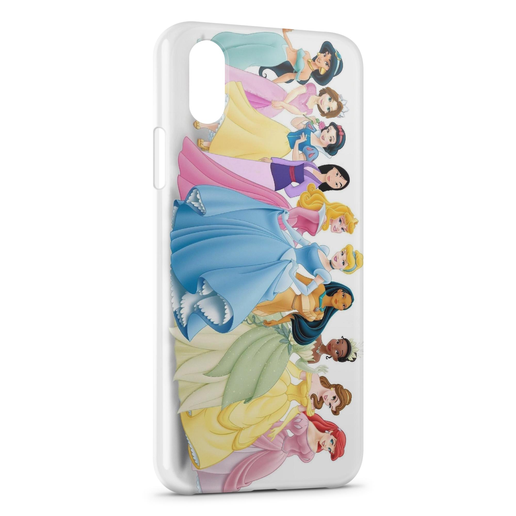 Coque iPhone X XS Disney Princess 1