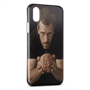 Coque iPhone X & XS Dr House Brain