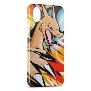 Coque iPhone X & XS Dracaufeu Pokemon 2