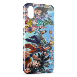 Coque iPhone X & XS Dragon Ball Z Fashion Group