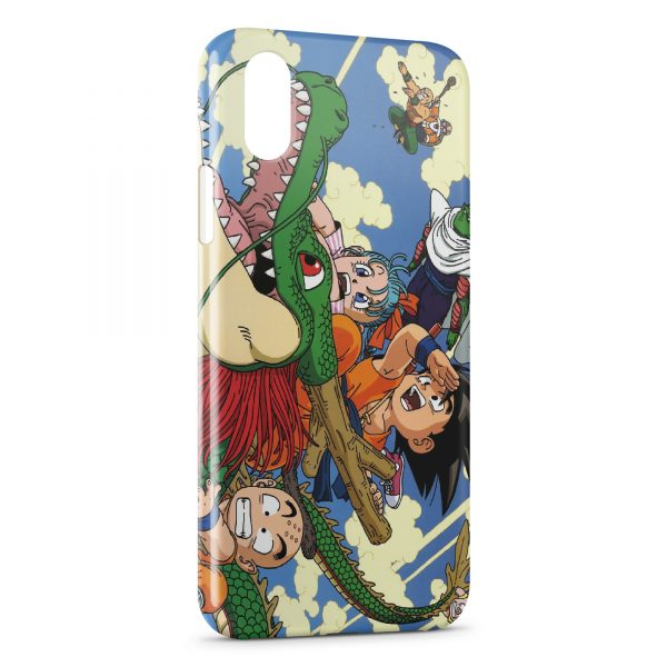 Coque iPhone X & XS Dragon Ball Z Group 3