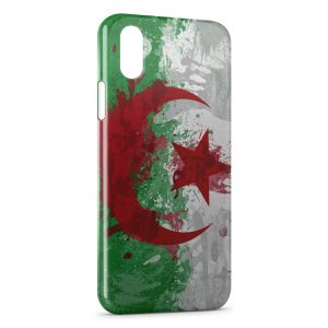 Coque iPhone X & XS Drapeau Algerie