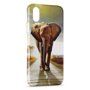Coque iPhone X & XS Elephant
