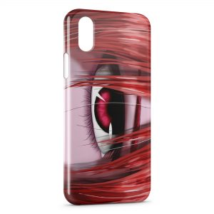 Coque iPhone X & XS Elfen Lied 3