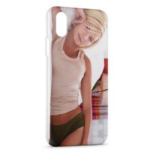 Coque iPhone X & XS Elisha Cuthbert 2