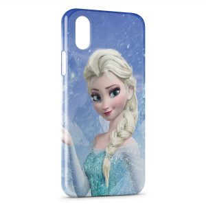 Coque iPhone X & XS Elsa Frozen Queen