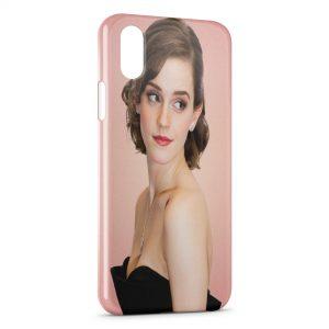 Coque iPhone X & XS Emma Watson 2