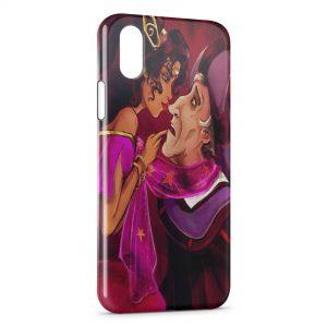 Coque iPhone X & XS Esmeralda Frollo Le Bossu de Notre Dame