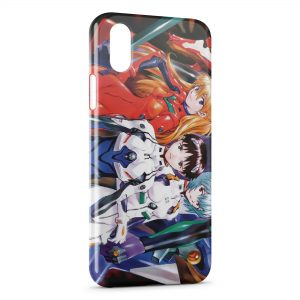 Coque iPhone X & XS Evangelion