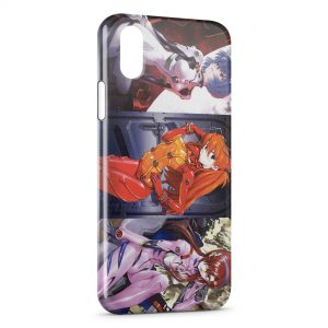 Coque iPhone X & XS Evangelion 2