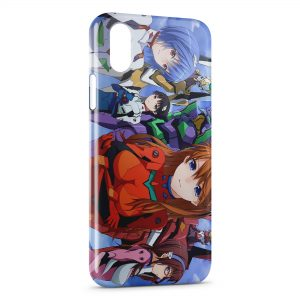 Coque iPhone X & XS Evangelion 3