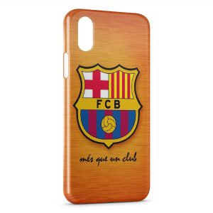 Coque iPhone X & XS FC Barcelone 4