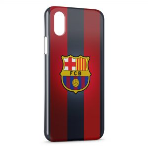 Coque iPhone X & XS FC Barcelone FCB Football 13