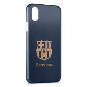 Coque iPhone X & XS FC Barcelone FCB Football 16