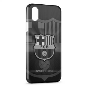 Coque iPhone X & XS FC Barcelone FCB Football 19