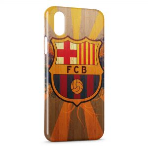Coque iPhone X & XS FC Barcelone FCB Football 23