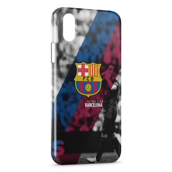 coque fc barcelone iphone x