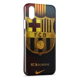 Coque iPhone X & XS FC Barcelone Football Club
