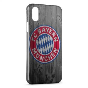 Coque iPhone X & XS FC Bayern Munich
