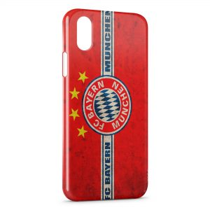 Coque iPhone X & XS FC Bayern Munich Football Club 15
