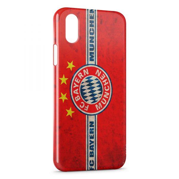 Coque iPhone X & XS FC Bayern Munich Football Club 15