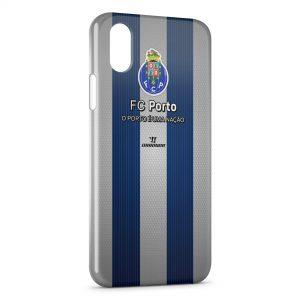 Coque iPhone X & XS FC Porto Logo Design 2