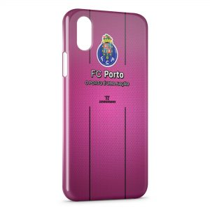 Coque iPhone X & XS FC Porto Logo Design 3