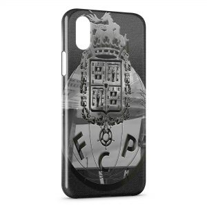 Coque iPhone X & XS FC Porto Logo Design 7