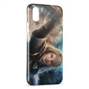 Coque iPhone X & XS Fantasy Girl
