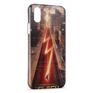 Coque iPhone X & XS Flash Comics