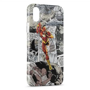 Coque iPhone X & XS Flash Comics 2