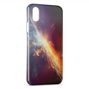 Coque iPhone X & XS Flash Light Power