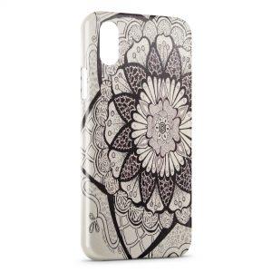Coque iPhone X & XS Fleur Design