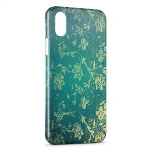 Coque iPhone X & XS Fleurs 4