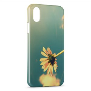 Coque iPhone X & XS Fleurs 5