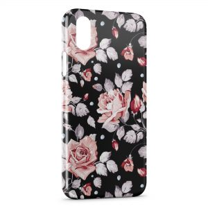 Coque iPhone X & XS Fleurs Flowers Design 5
