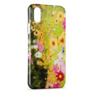 Coque iPhone X & XS Fleurs et Nature
