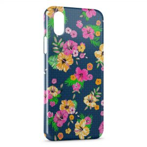 Coque iPhone X & XS Flowers Vintage 11