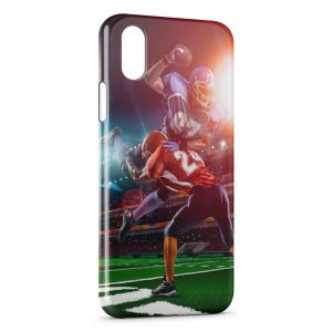 Coque iPhone X & XS Football Americain
