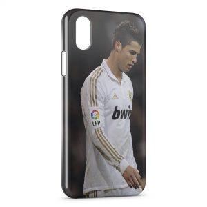 Coque iPhone X & XS Football Cristiano Ronaldo