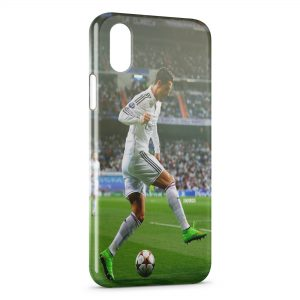Coque iPhone X & XS Football Cristiano Ronaldo 2