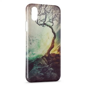Coque iPhone X & XS Foret Horreur