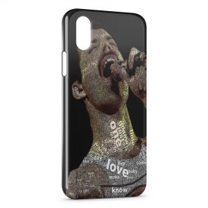 Coque iPhone X & XS Freddie Mercury Queen