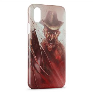 Coque iPhone X & XS Freddy Horreur