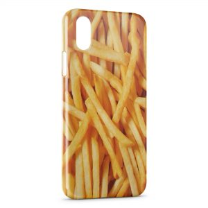 Coque iPhone X & XS Frites French Fries