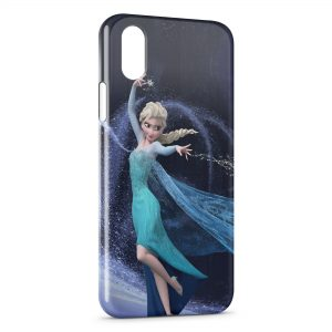 Coque iPhone X & XS Frozen Queen Elsa