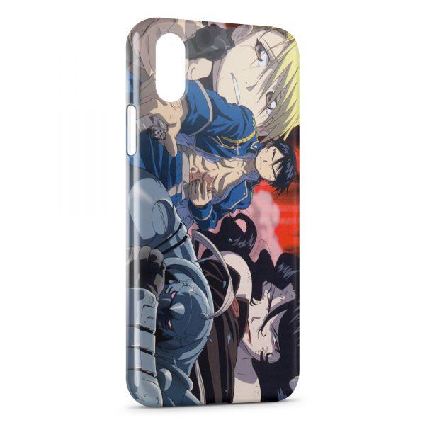 Coque iPhone X & XS Fullmetal Alchemist Brotherhood 2