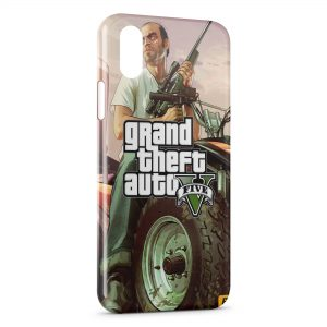 Coque iPhone X & XS GTA 5 2