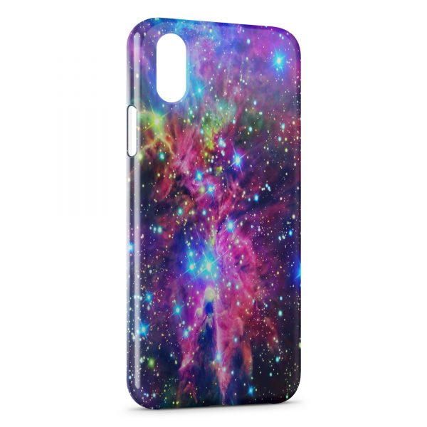 Coque iPhone X & XS Galaxy 3